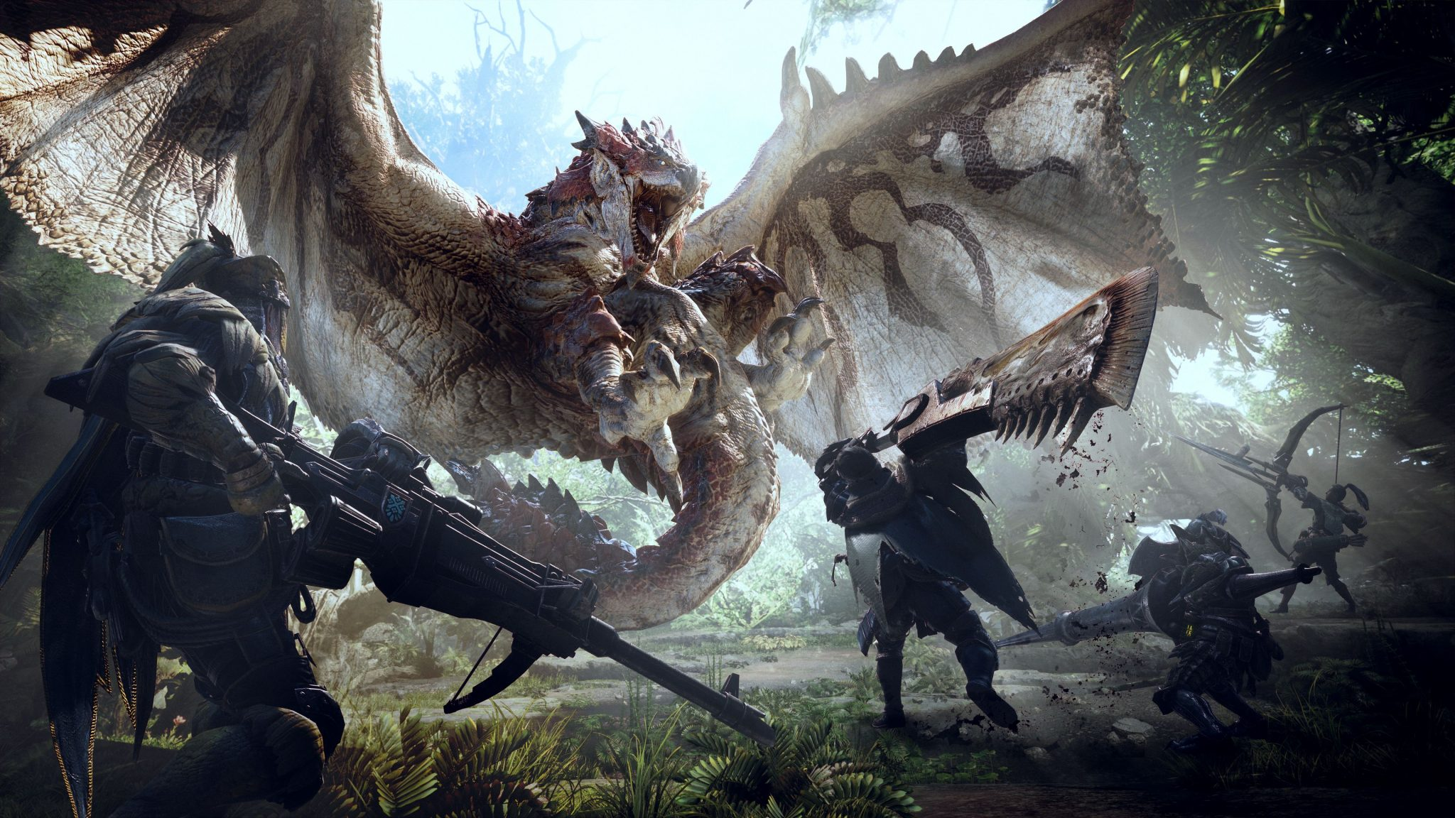 monster hunter world official art