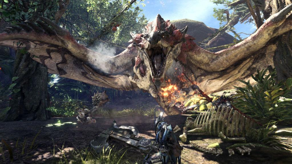 monster hunter world capcom ps4
