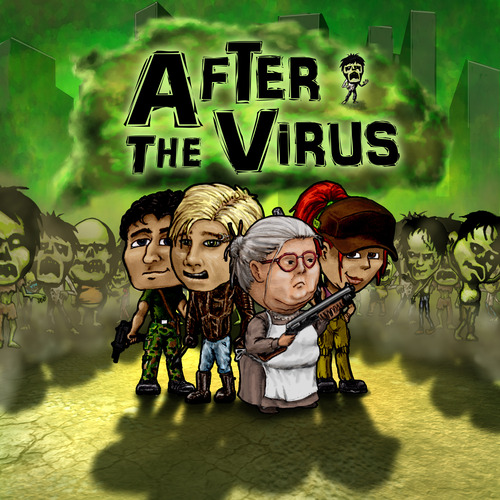 After the virus box art