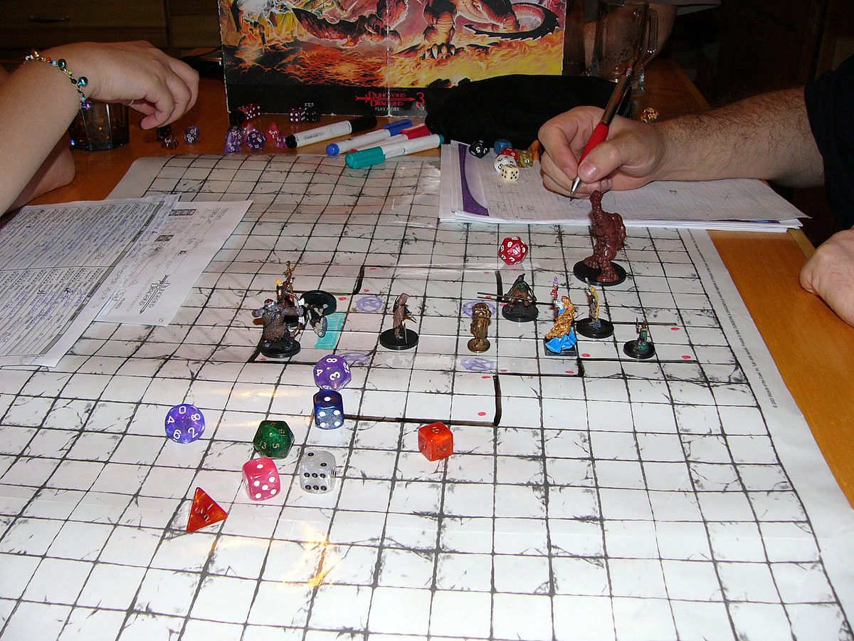 tabletop dungeons and dragons