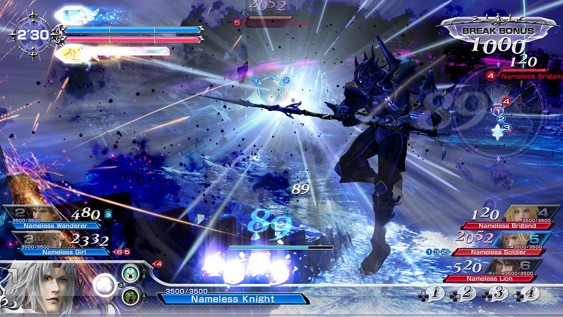 Chaos in Dissidia Final Fantasy NT
