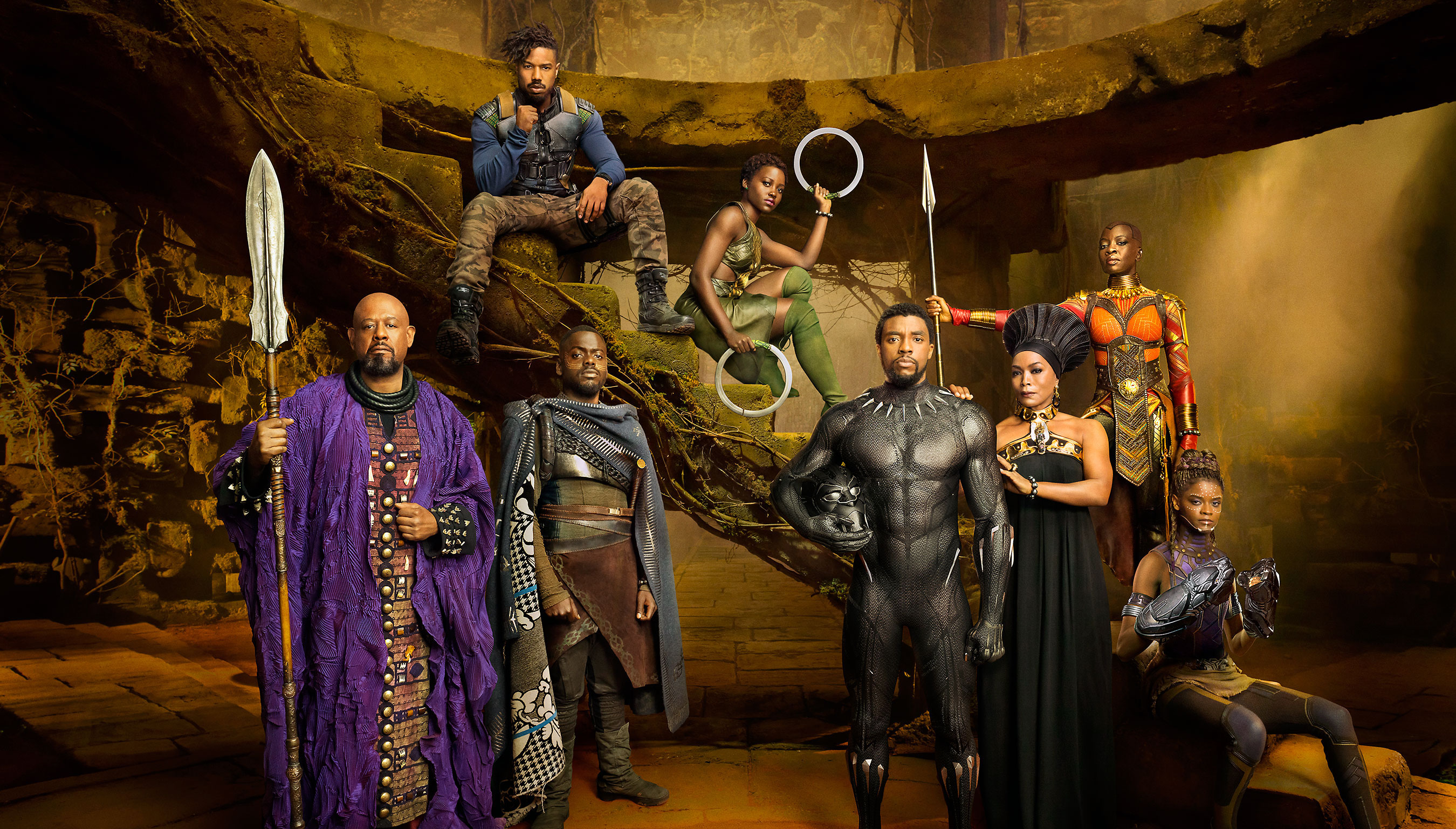 Black Panther has been wonderfully cast