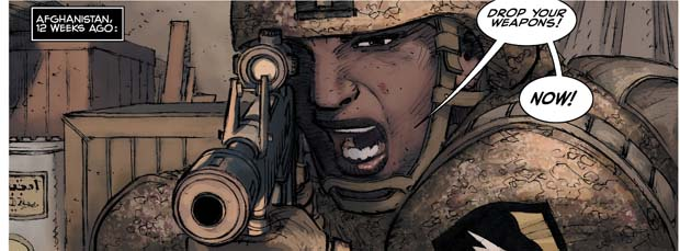 Kick-Ass soldate
