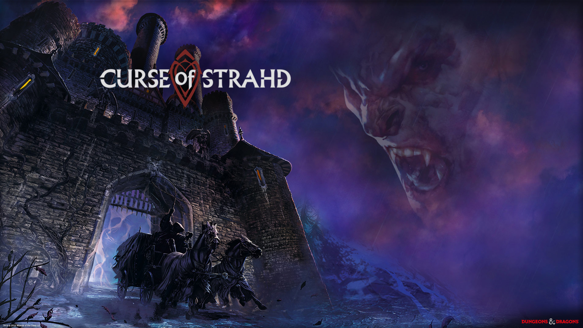 Curse Of Strahd Artwork
