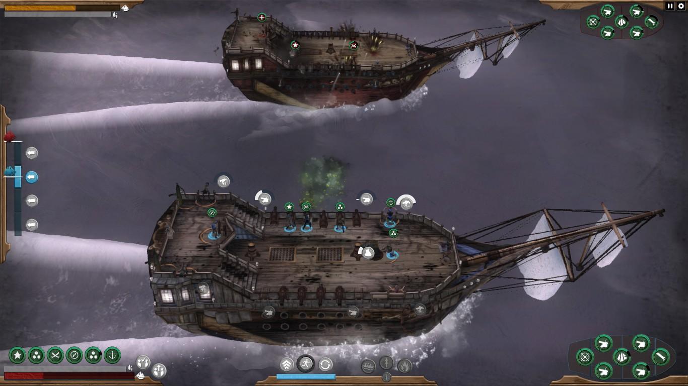Abaondon Ship combat