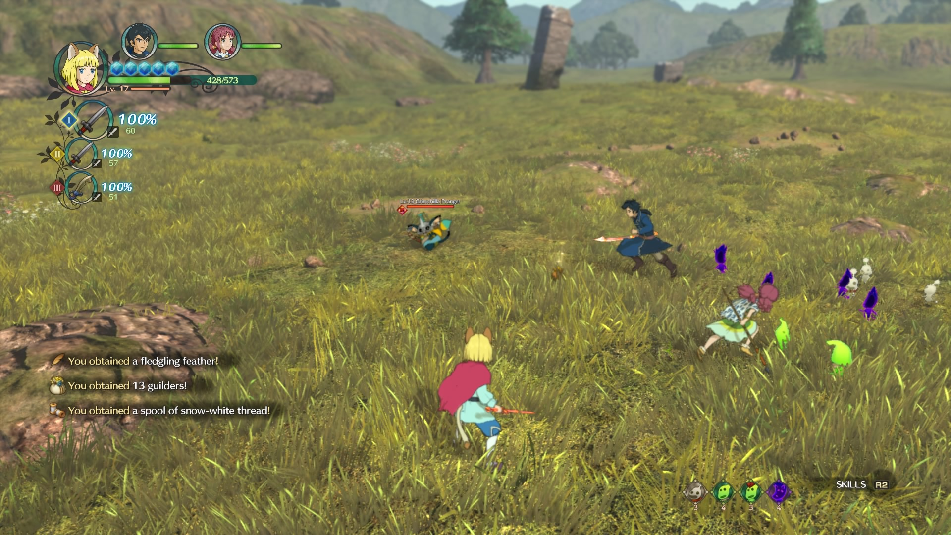 Ni no Kuni II battle