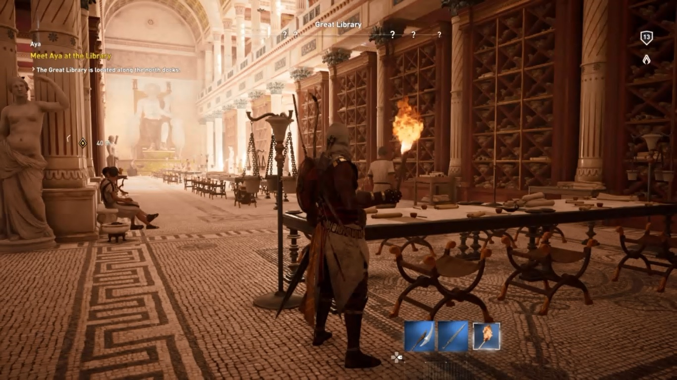 AC Origins Library