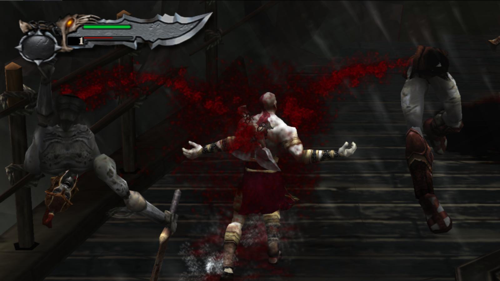 God of War bftp blood