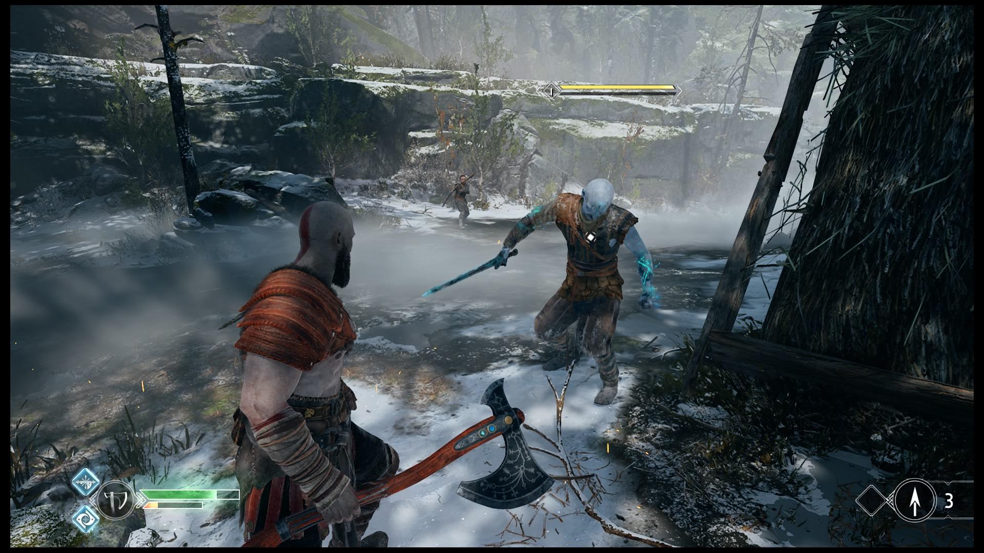 God of War combat 1