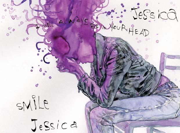 Jessica Jones cover fragment