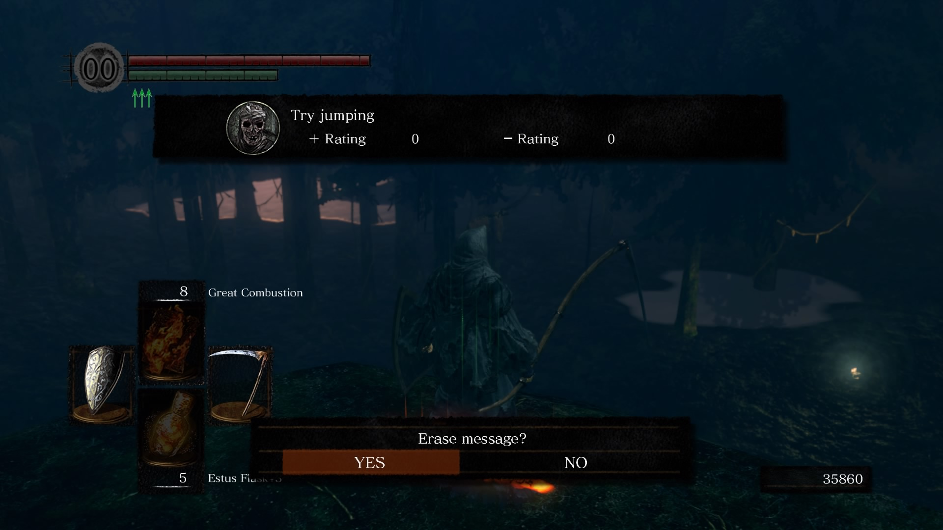 Dark Souls Remastered try jumping