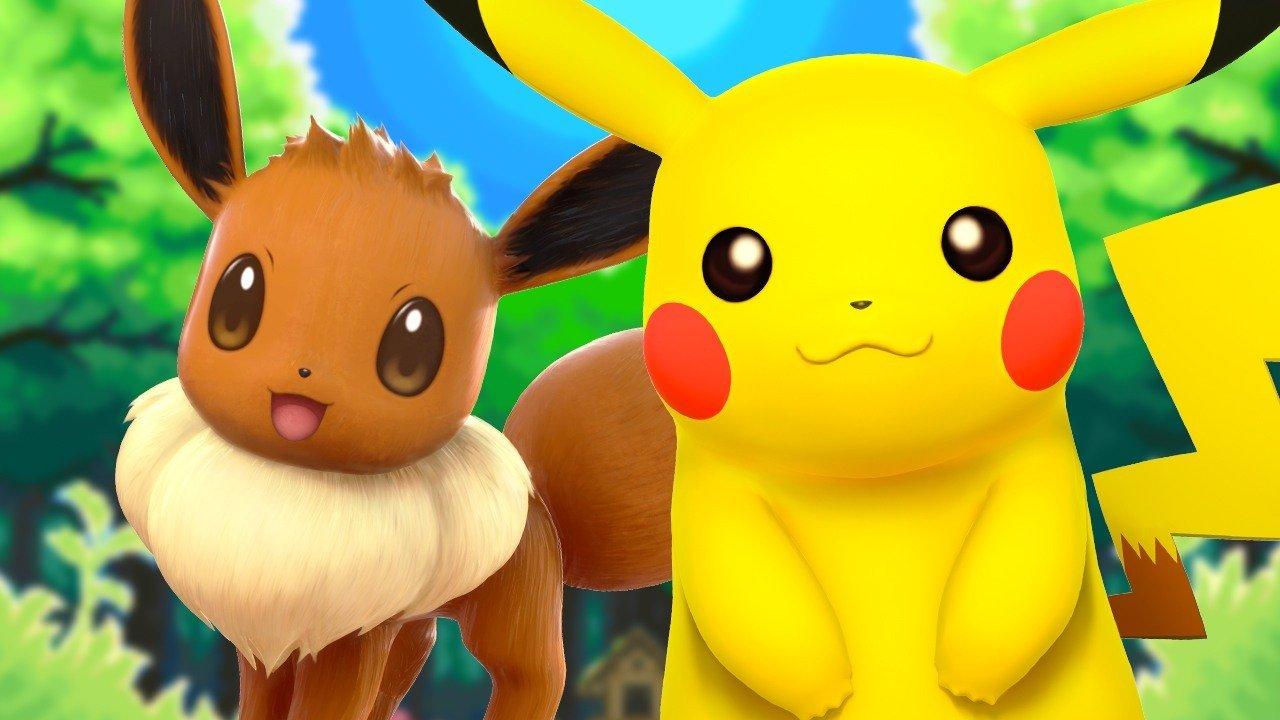 pokémon let's go pikachu eevee artwork