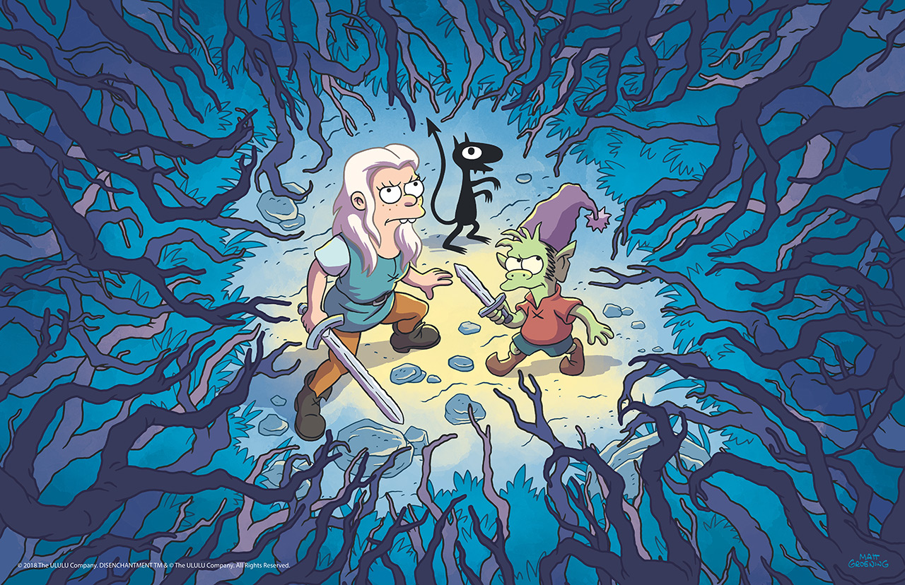 Disenchantment-Netflix-Groening