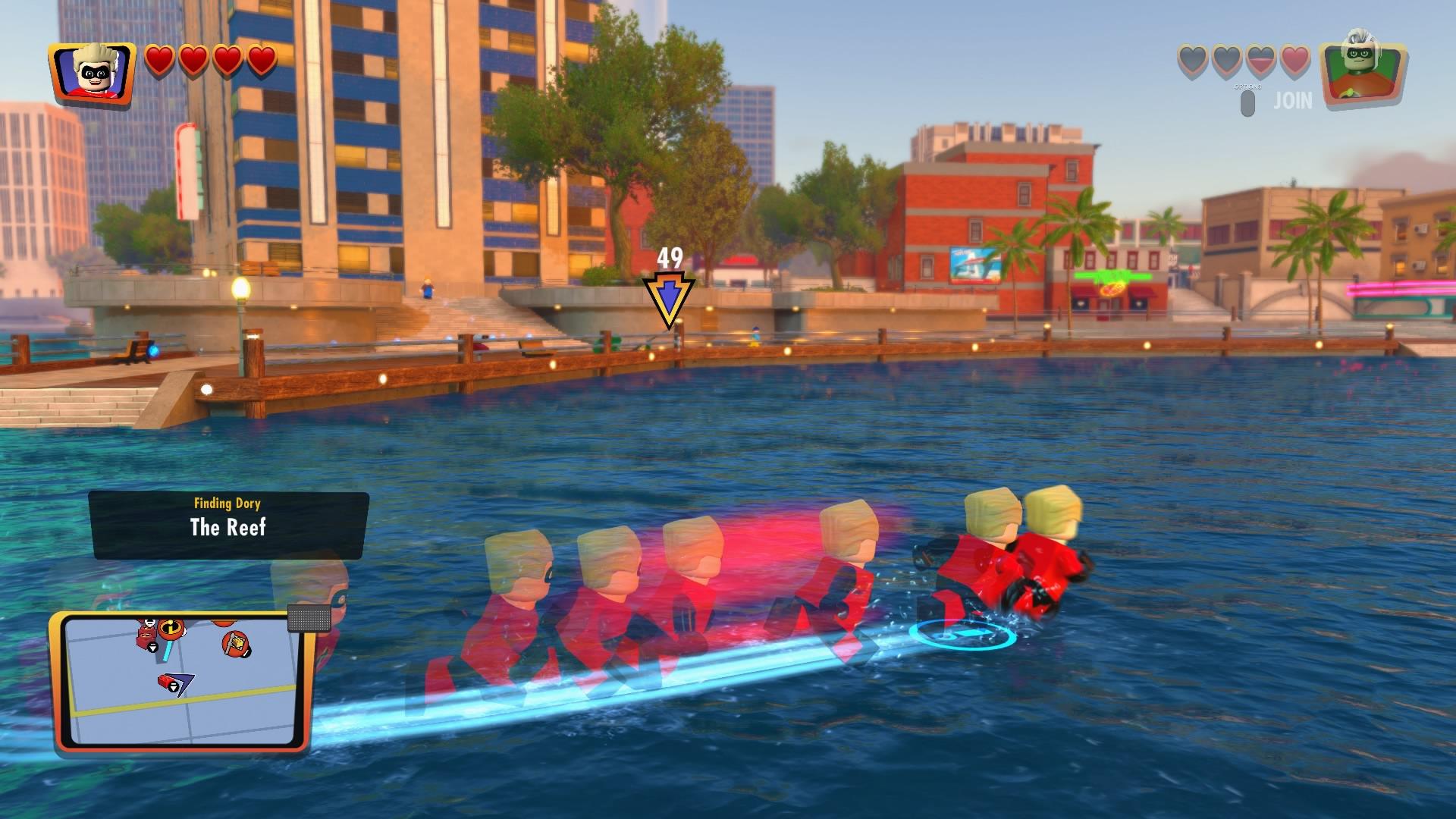 Lego The Incredibles dash