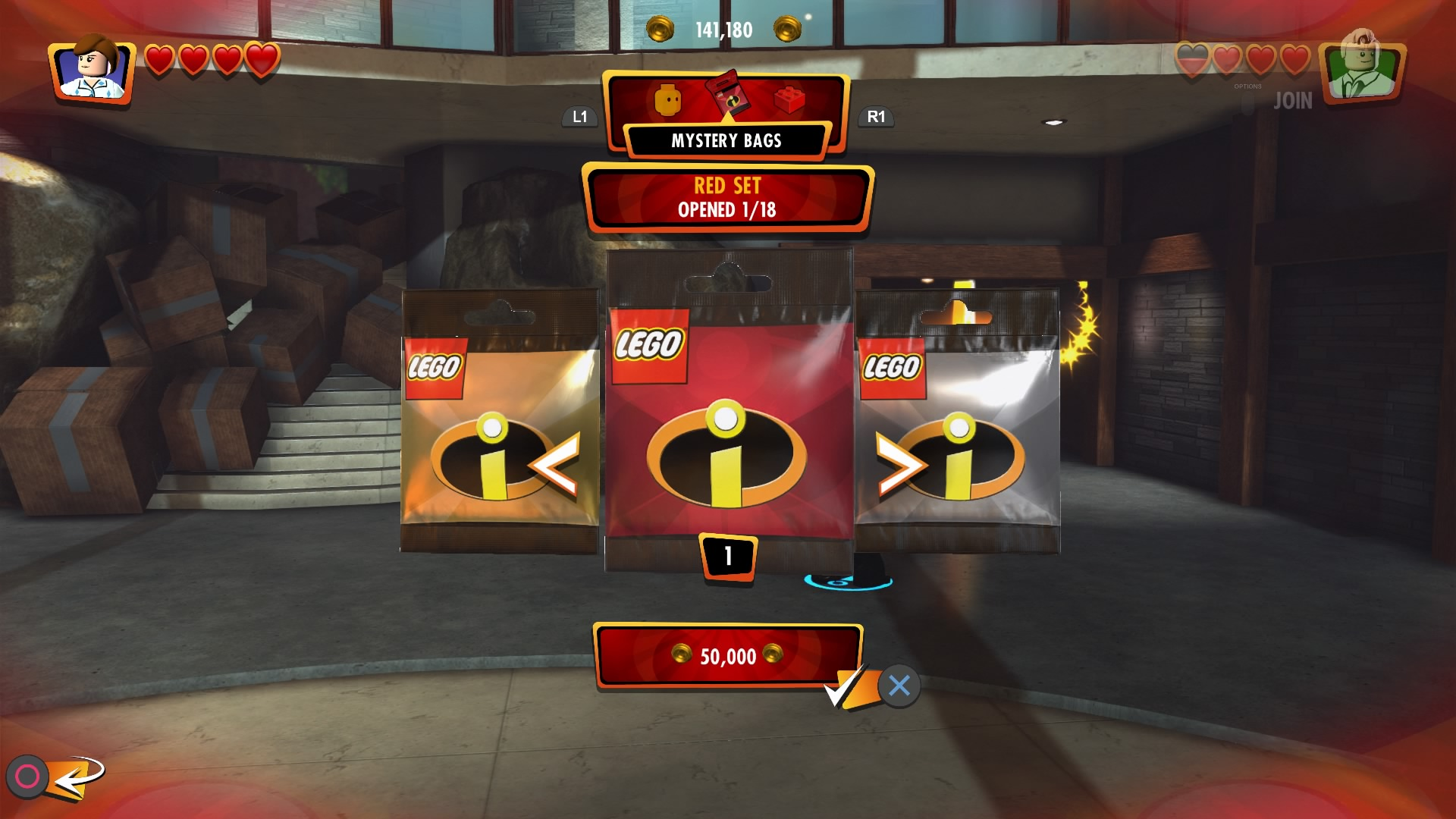 Lego The Incredibles mystery bags