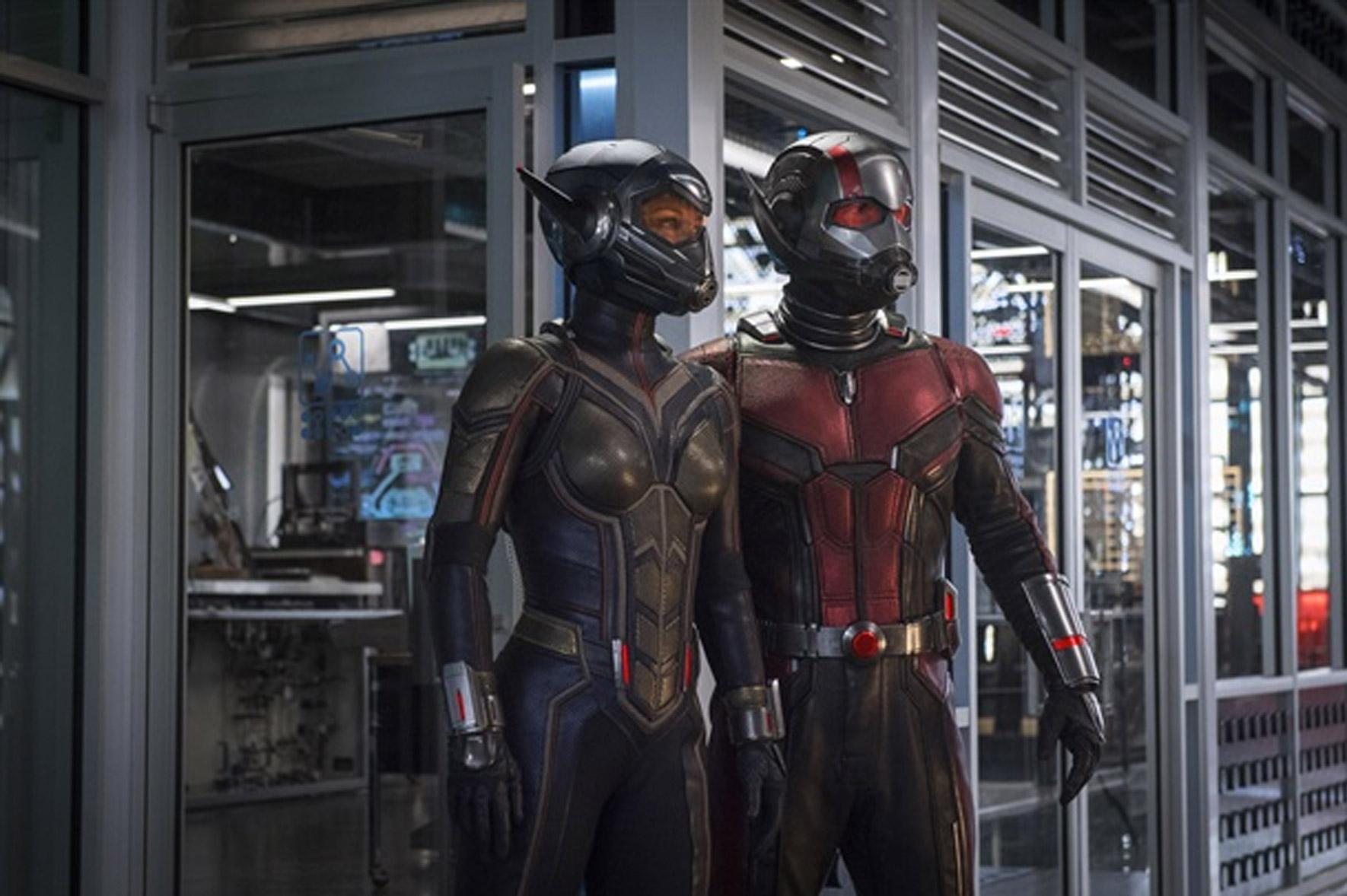 Ant-Man and the Wasp eindelijk samen