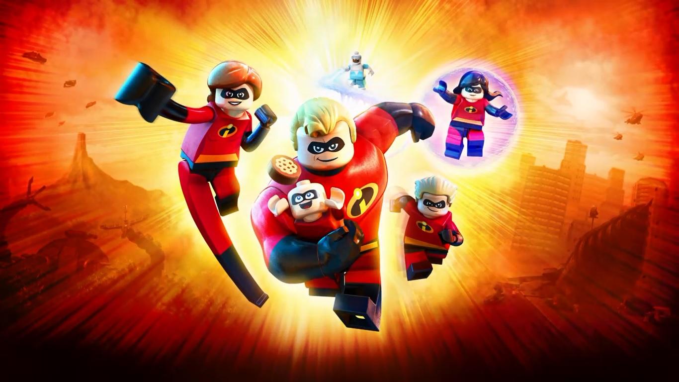 Lego Incredibles cover