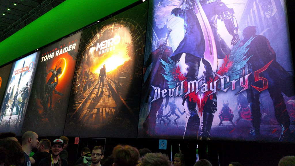 devil may cry 5 gamescom