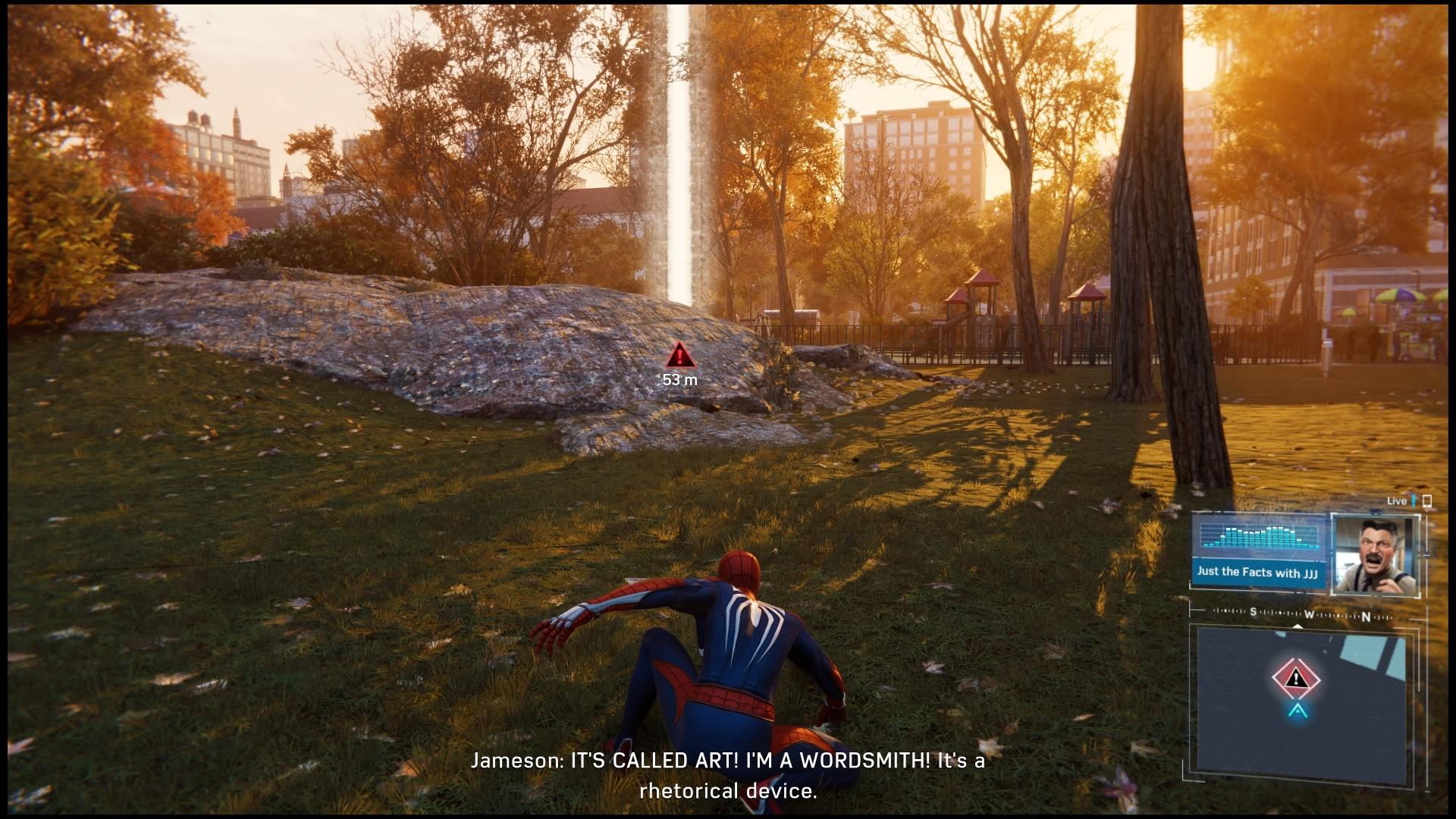 Marvel's Spider-Man Jameson