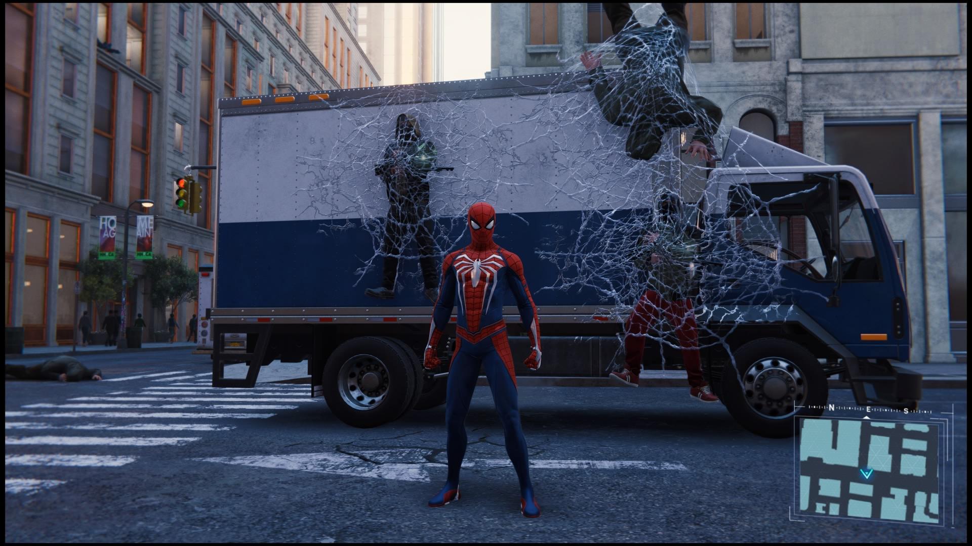 Marvel's Spider-Man combat 2