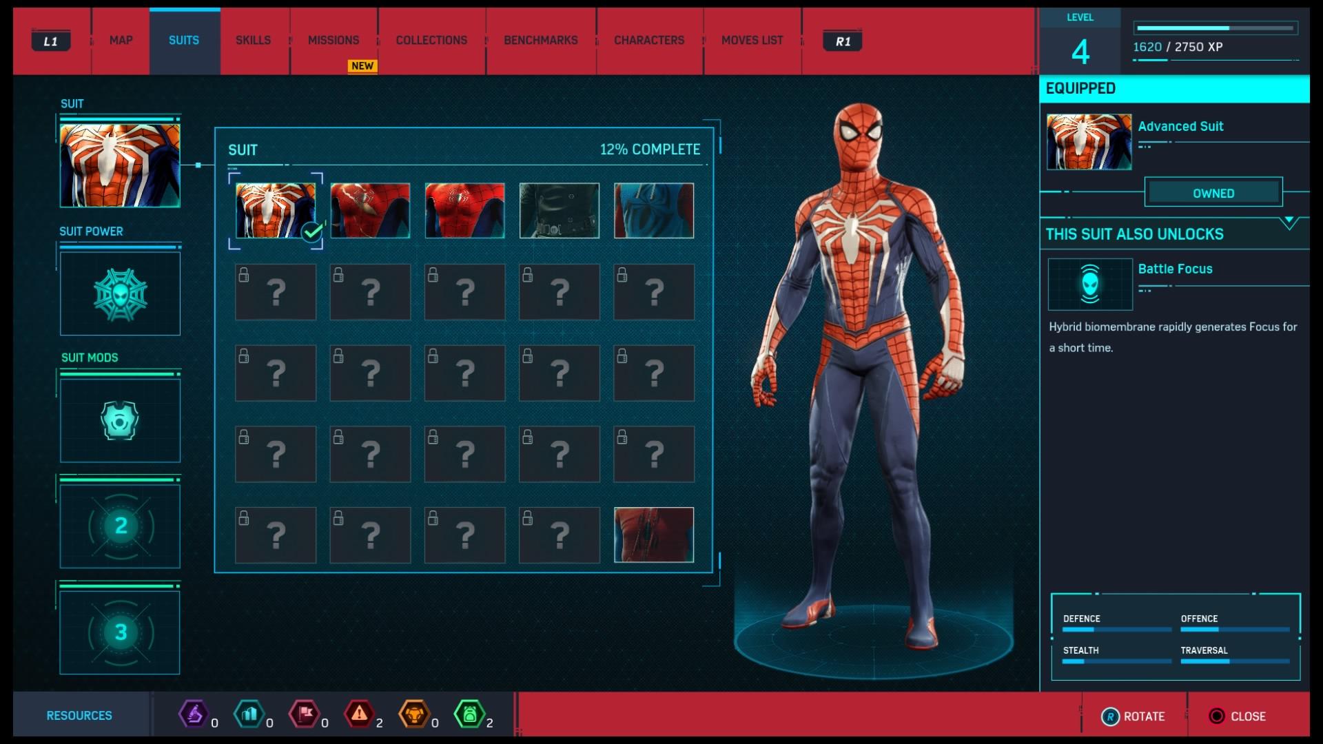 Marvel's Spider-Man suits