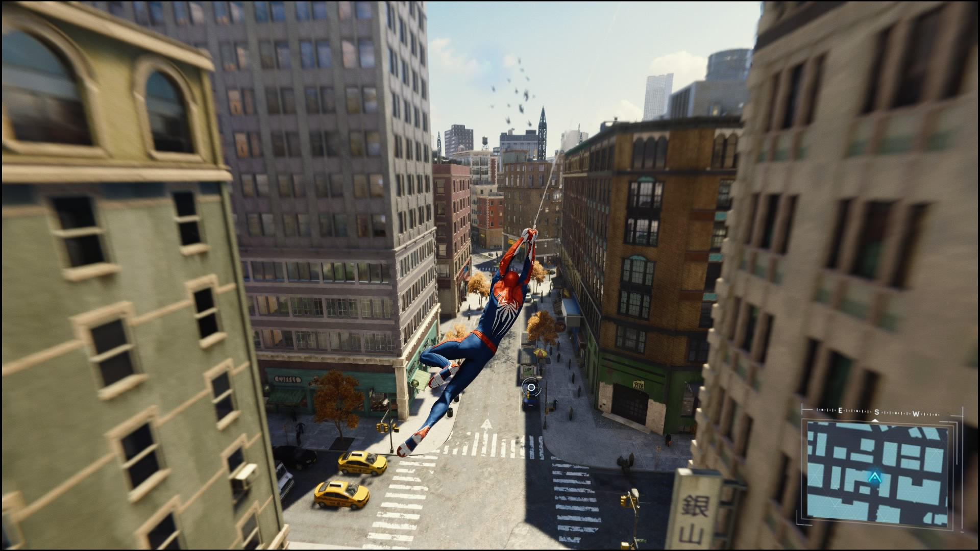 Marvel's Spider-Man Webswingen