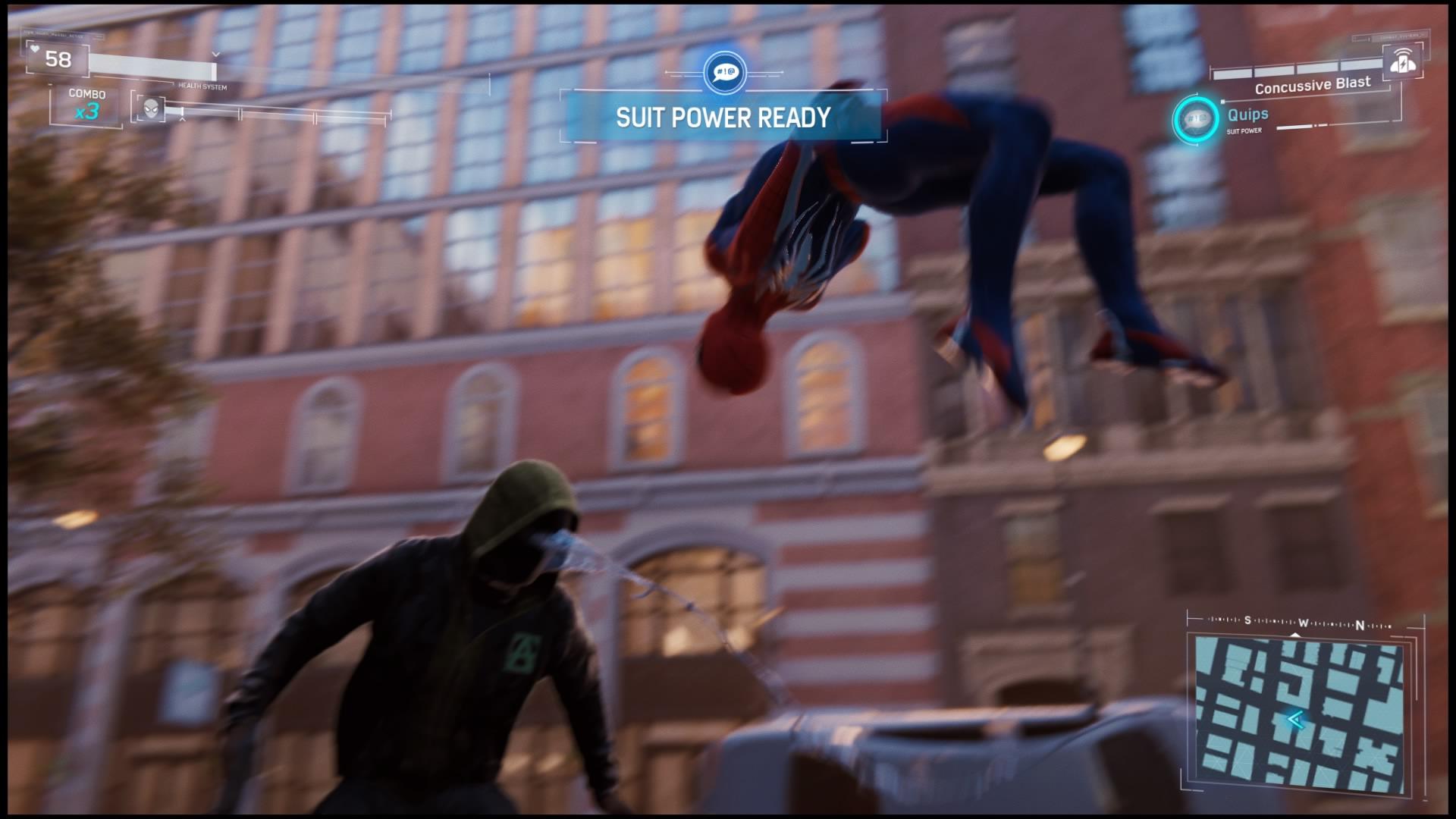 Marvel's Spider-Man focus