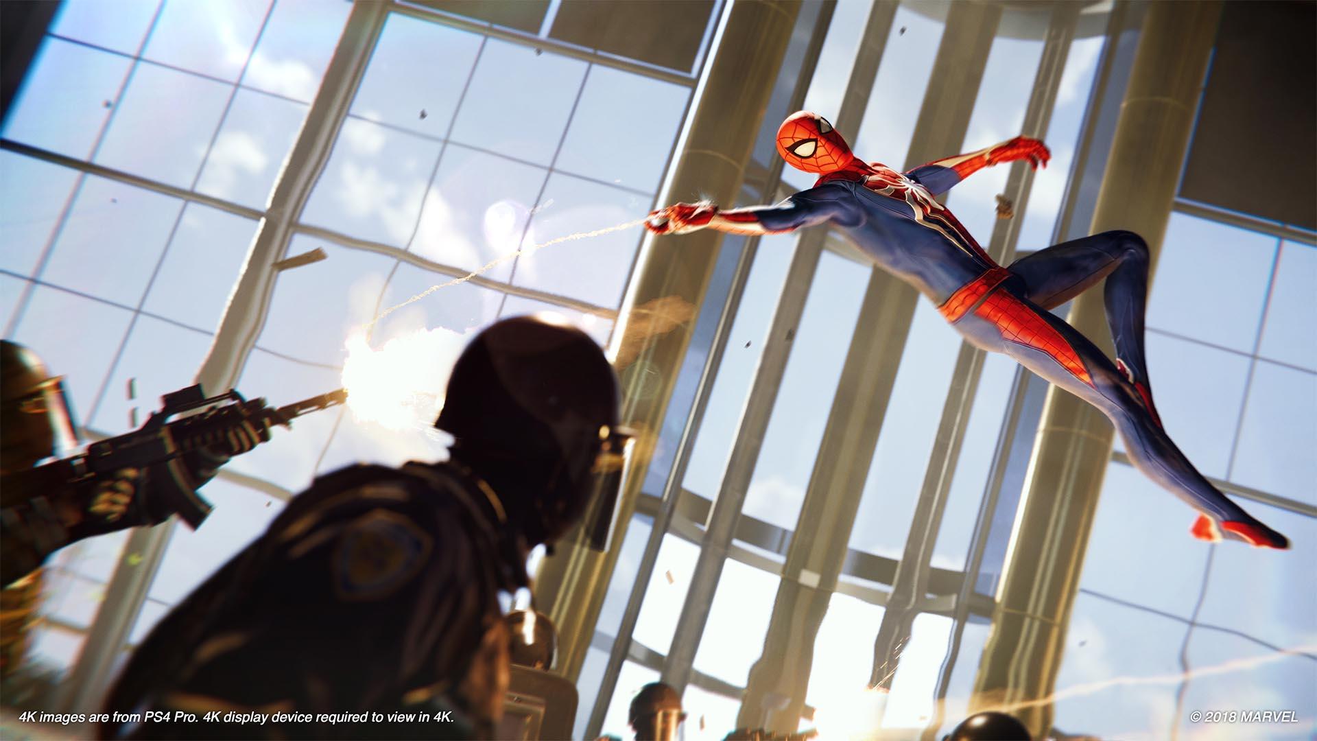 Marvel's Spider-man combat