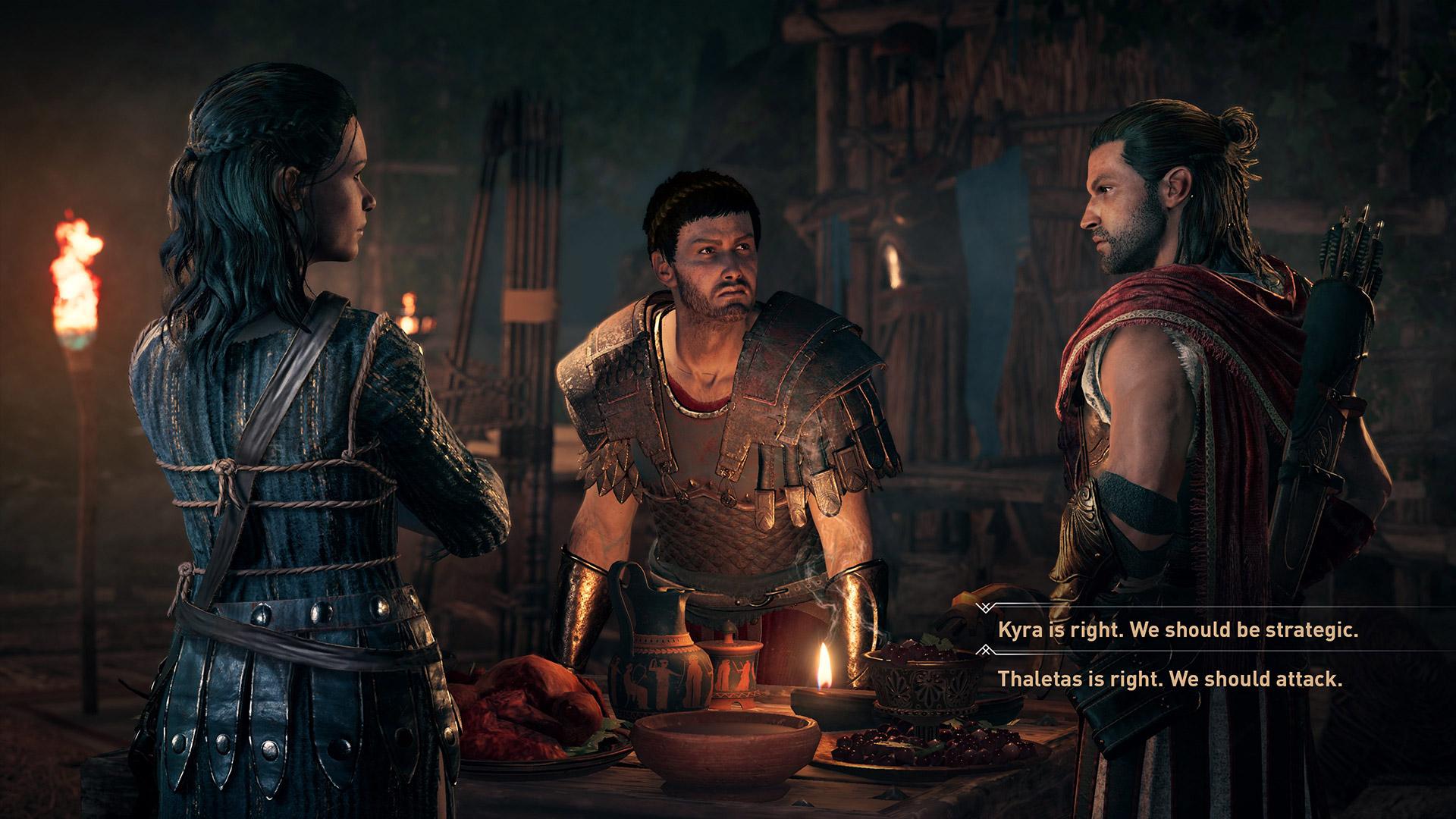 Assassin's Creed Odyssey keuzes maken