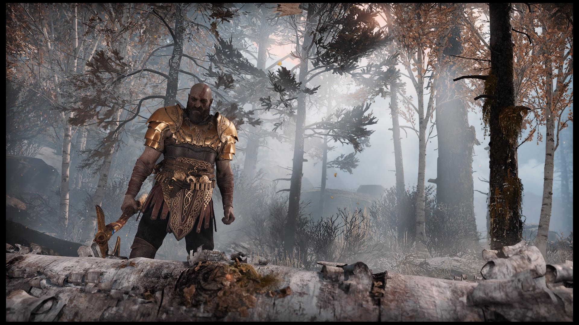 Geekster Speelt God of War NG+