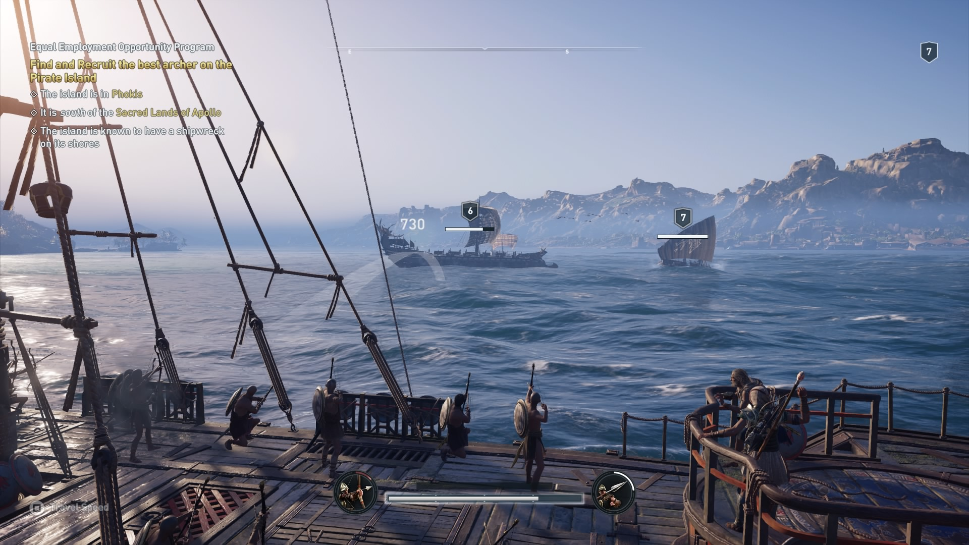 Assassin's Creed Odyssey ship