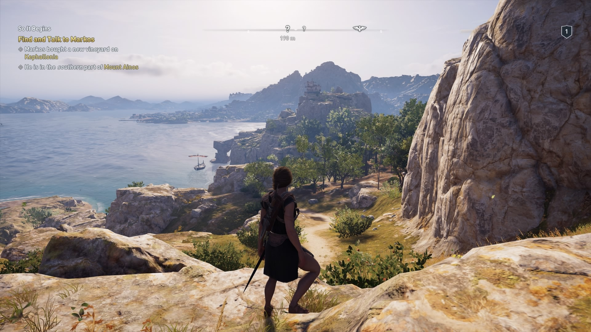 Assassin's Creed Odyssey exploration mode