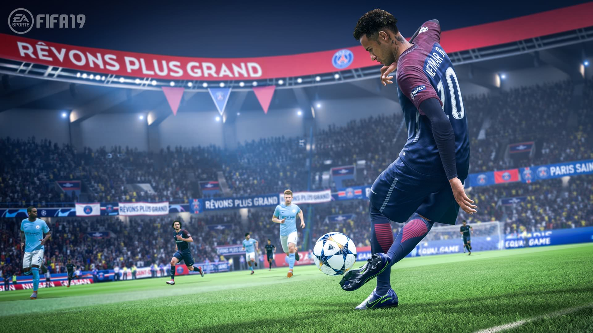 FIFA 19 screenshot Neymar