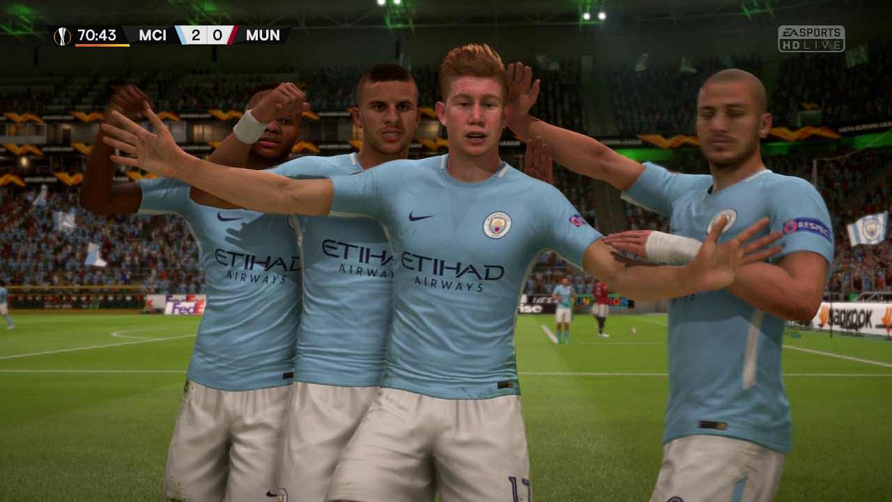FIFA 19 Manchester City