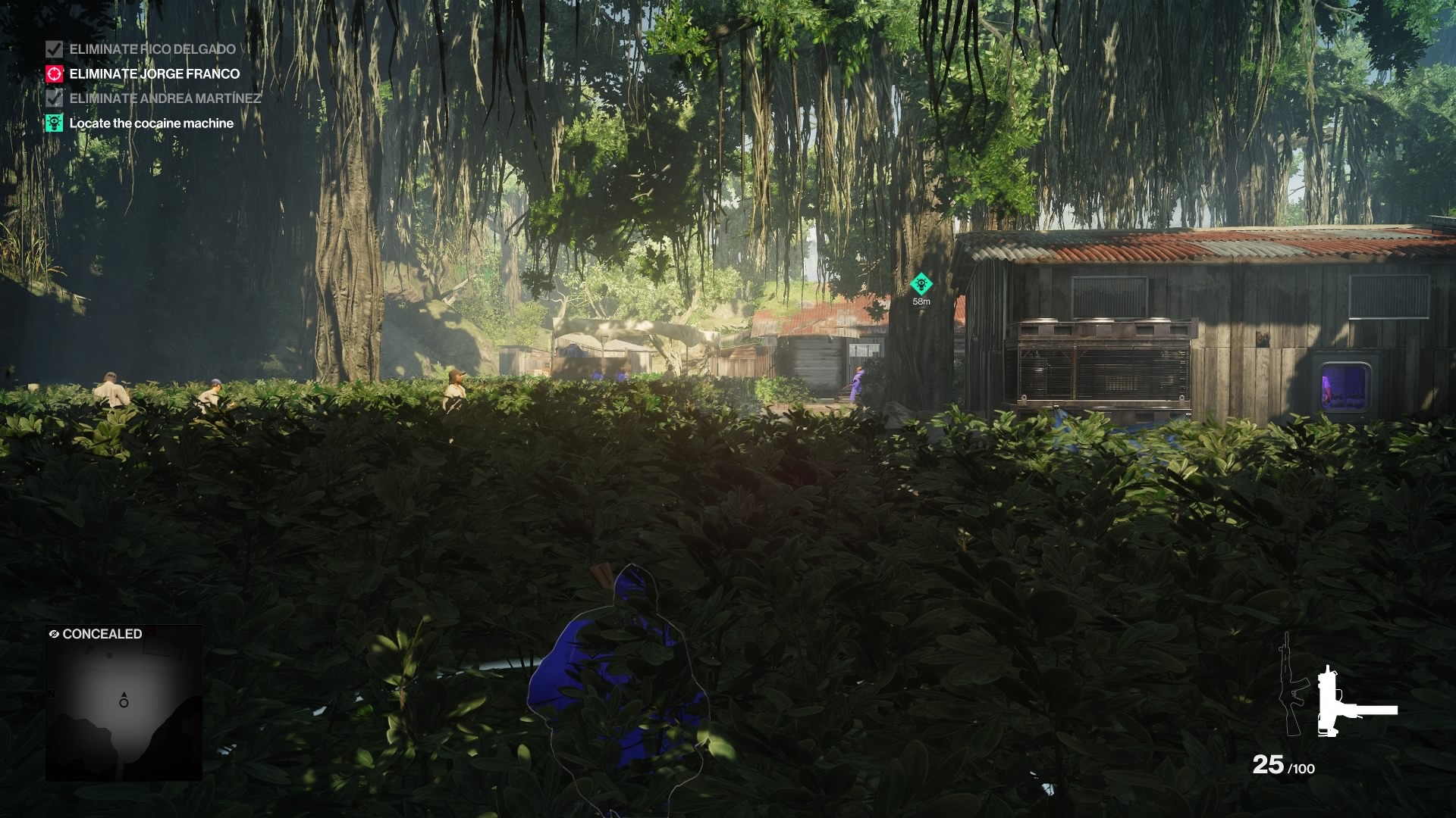 Hitman 2 vegetation