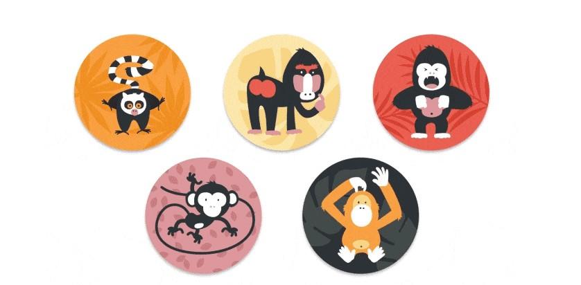 alle apen