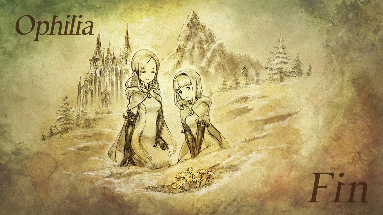 octopath traveler ophilia end