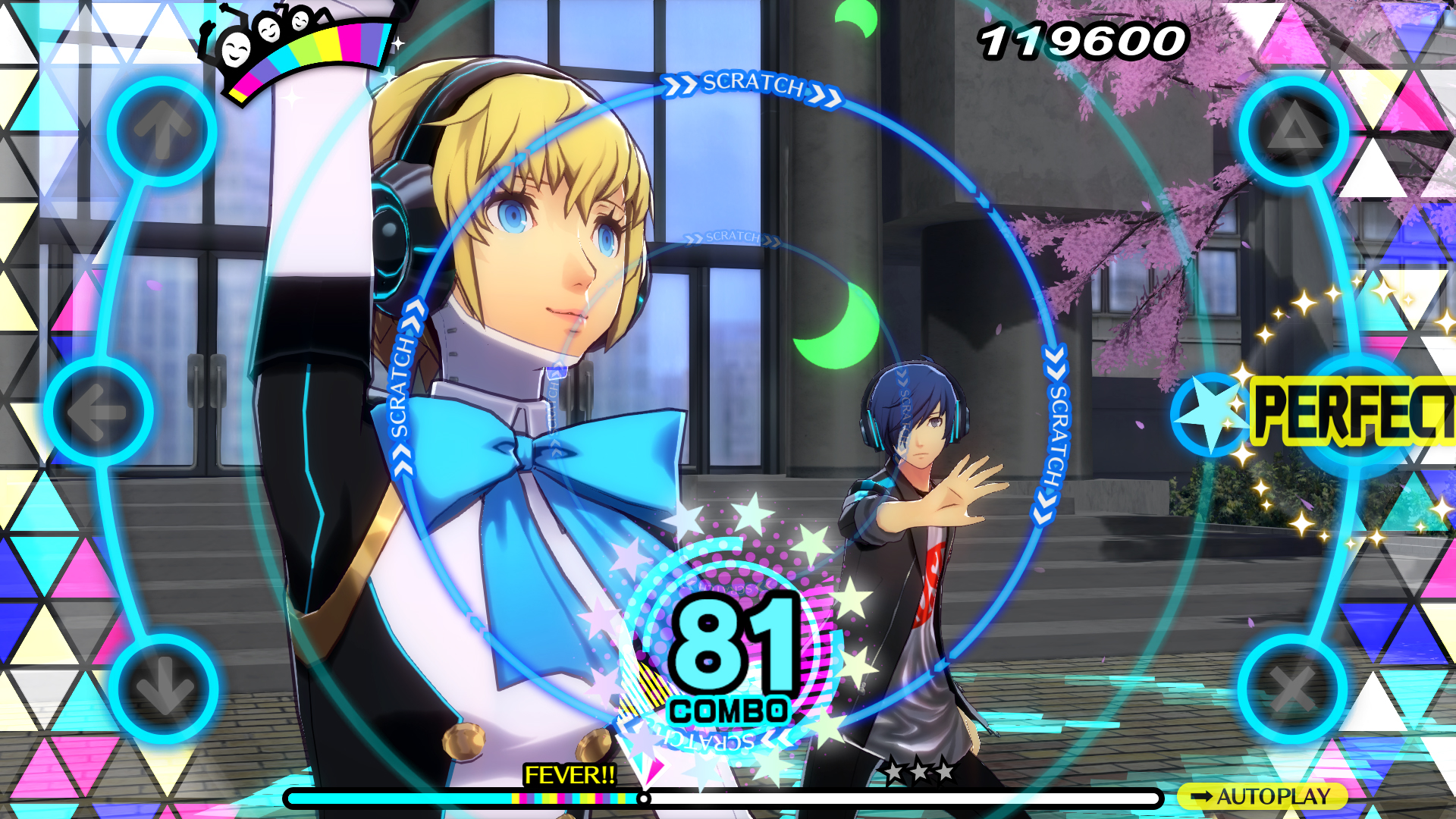 persona 3 dancing in moonlight screenshot