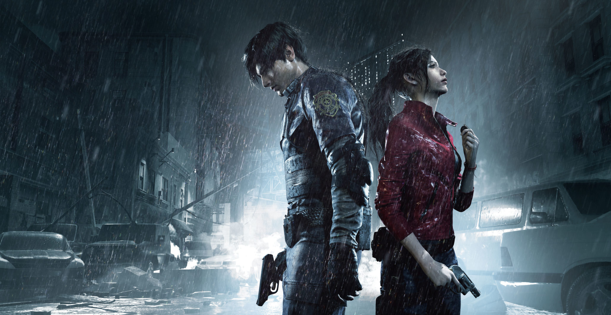 resident evil 2 remake leon claire