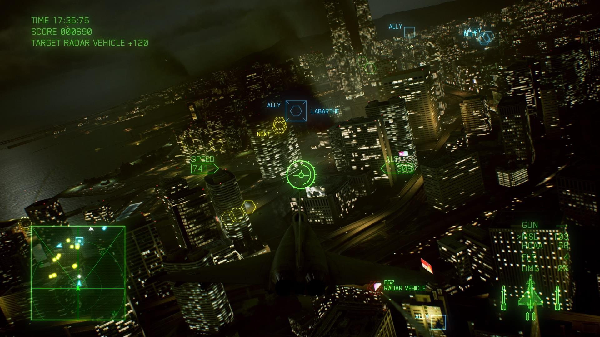 Ace Combat 7 City