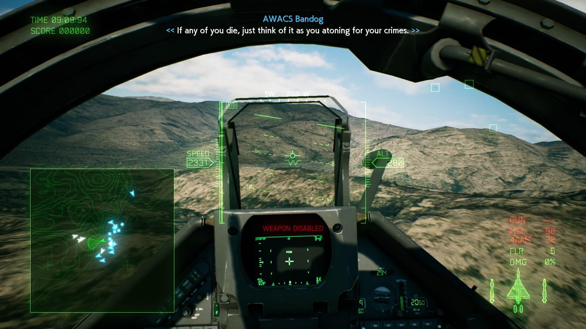 Ace Combat 7 penal unit