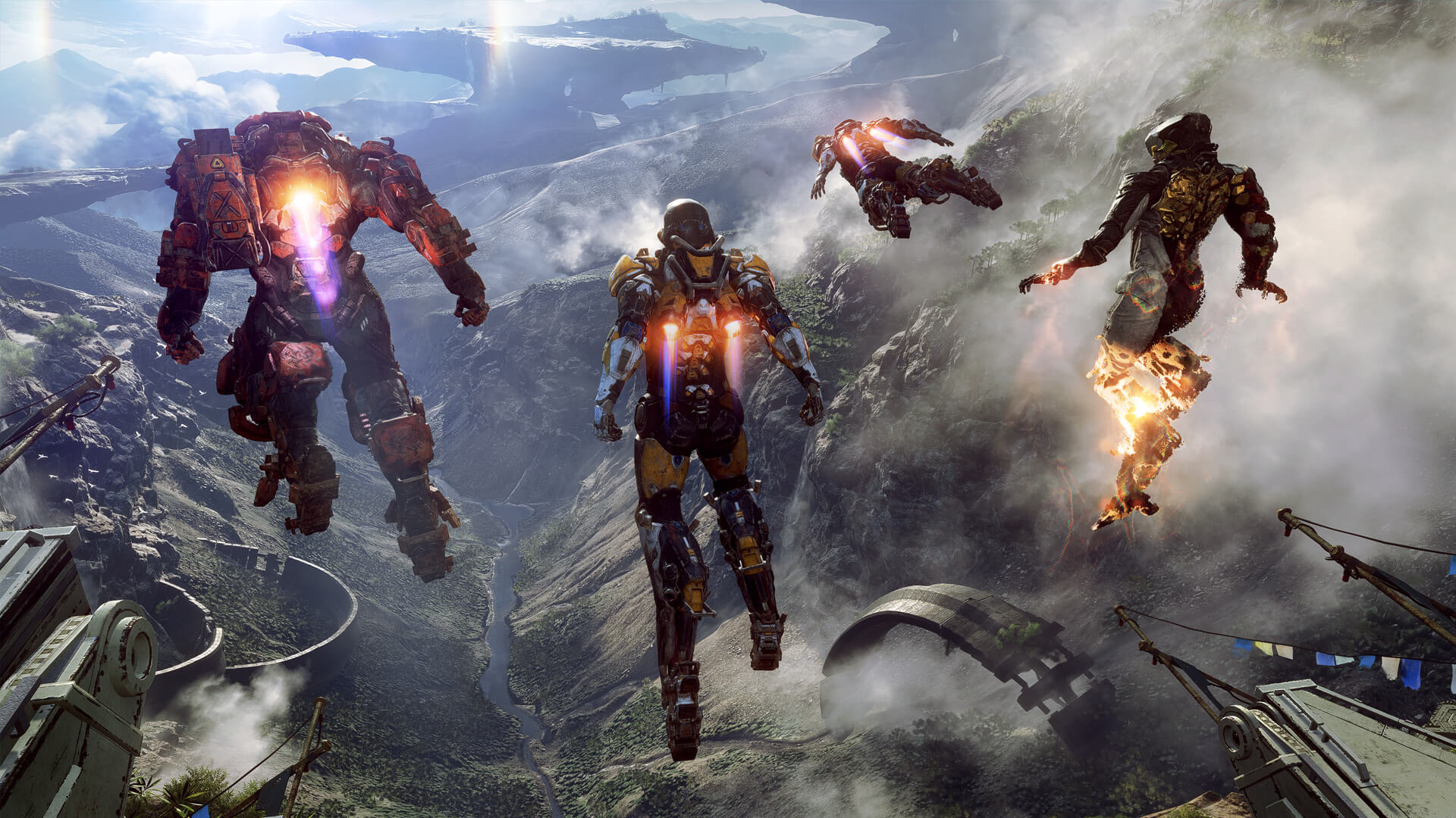 anthem ea bioware flying
