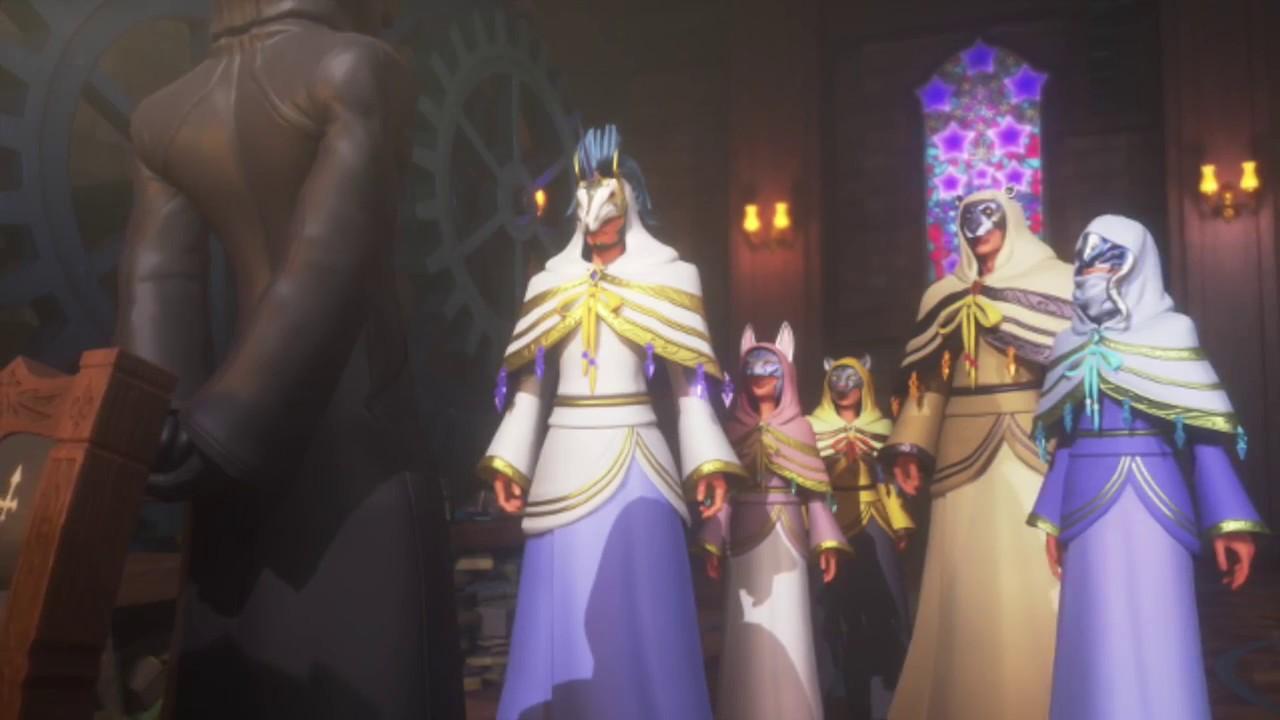 Kingdom Hearts Master of Masters