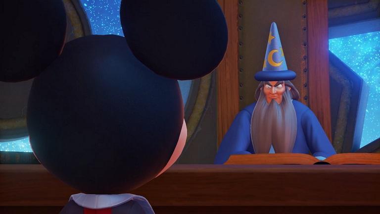 Kingdom Hearts Mickey Yen Sid