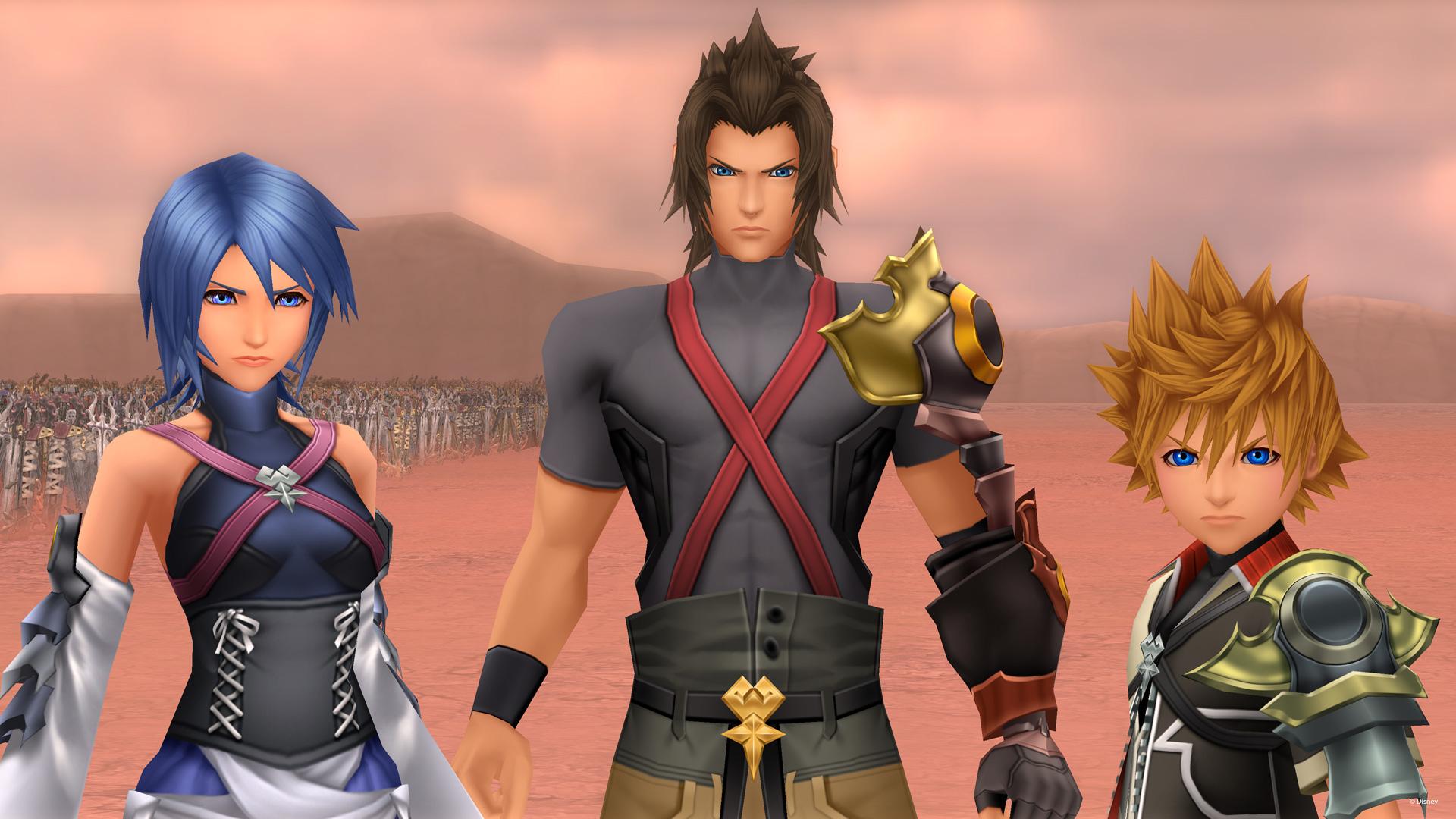 Kingdom Hearts aqua terra ventus