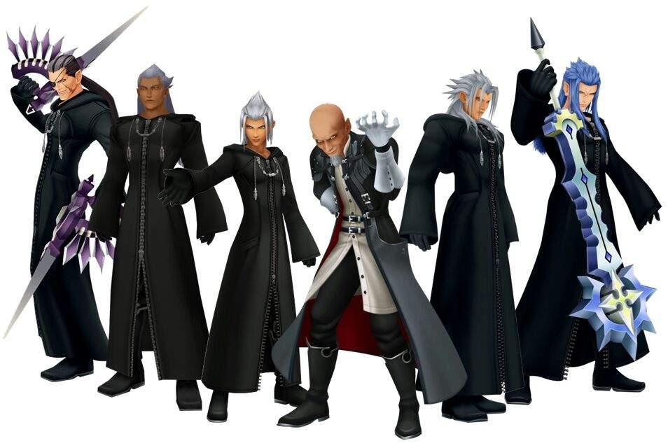 Kingdom Hearts heartless true organisation xiii