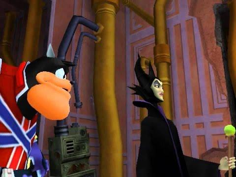 Kingdom Hearts maleficent pete