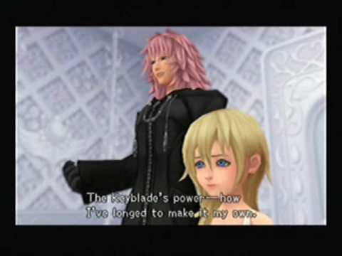 Kingdom Hearts namine marluxia