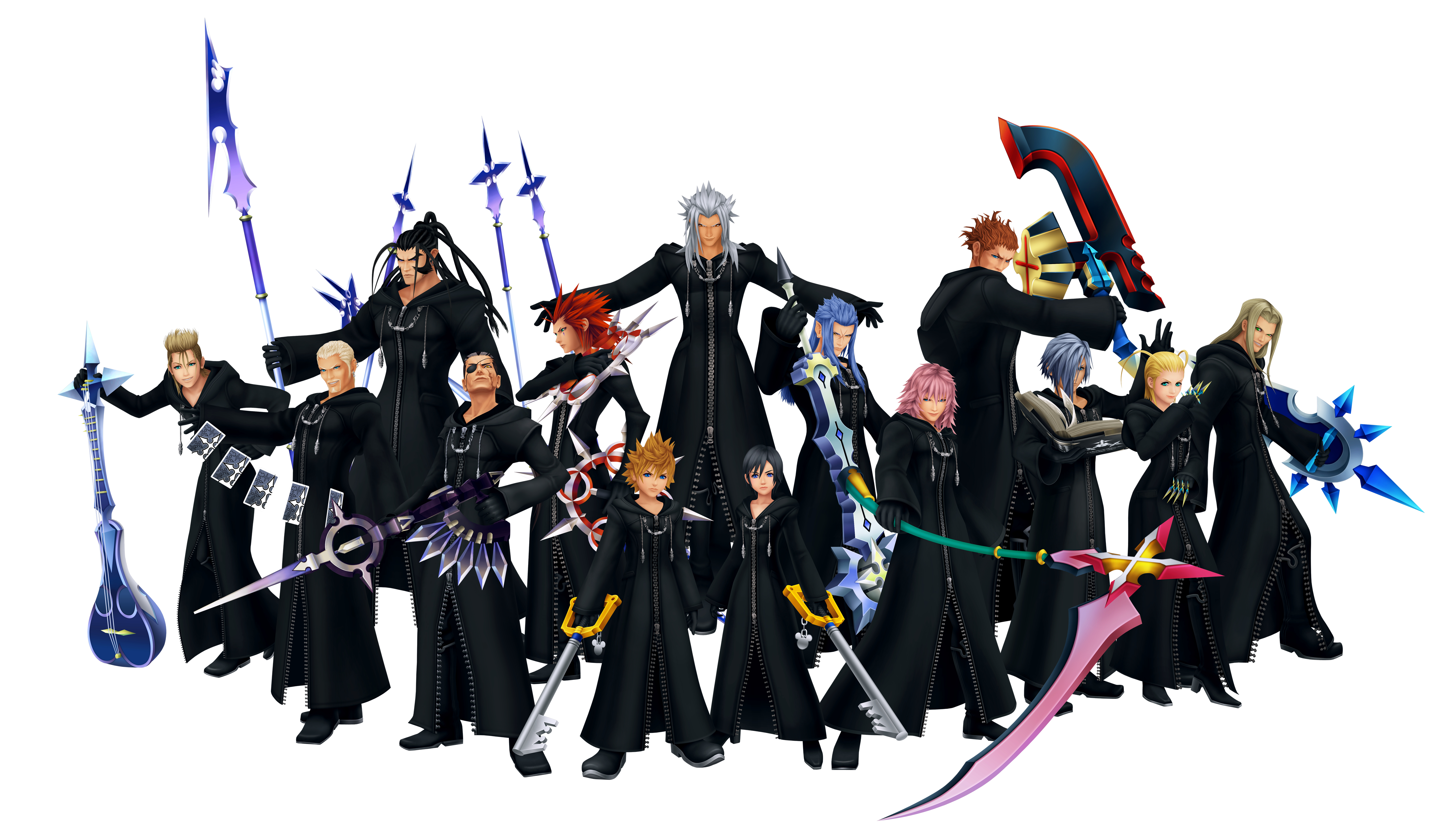 Kingdom Hearts Organization XIII