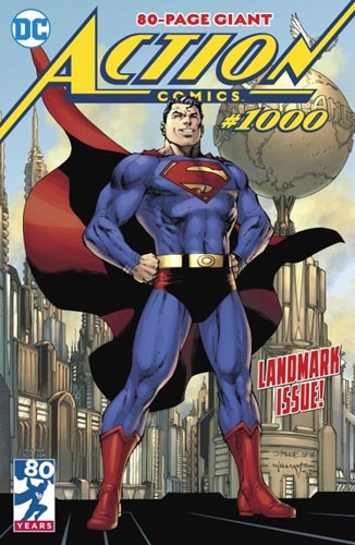 action comics 1000 mini cover